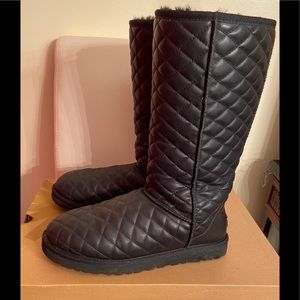 UGG Classic Tall Diamond Quilted Boot.
